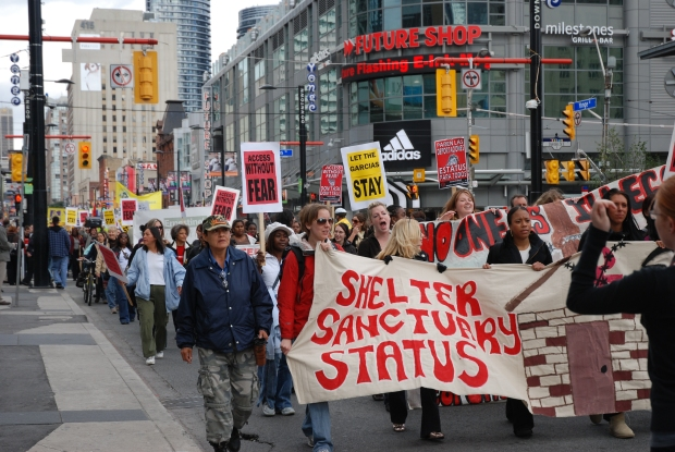 SSS - Protest in Toronto - Oct 2008 - large res